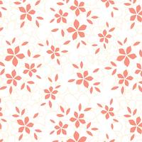 Flower Textura Gratis Vector Bakgrund