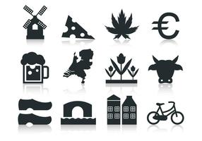 Free Netherlands icon vector free