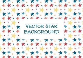 Färgglada Star Bakgrund