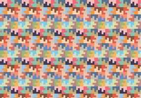 Pastel Square Willekeurig Patroon