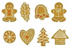Lebkuchen icon set