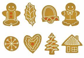 Lebkuchen ikonuppsättning