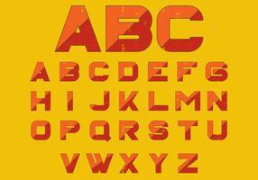 Lettre en caractères gras