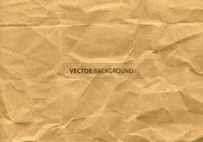 Texture vectorielle libre de papier froissé