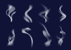 Vector livre de escova de fumaça