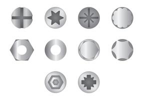 Free Nail Head Icons Vector