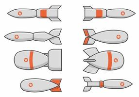 Conjunto de Bombas de la Segunda Guerra Mundial