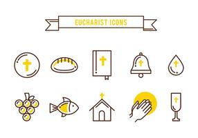Free Sacraments Icons vector