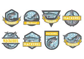 Free Mackerel Icons Vector