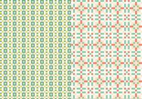Geometric Stitch Pattern vector