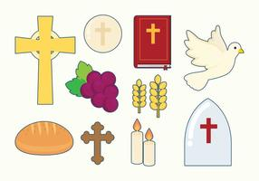 Free Eucharist Icons  vector