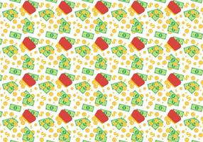 Free Dollar Vector Pattern