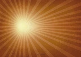 Fondo del vintage del resplandor solar