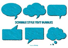 Scribble Style Voice Bubbles