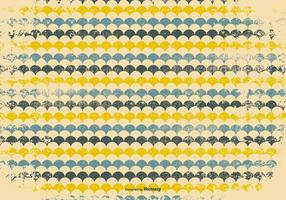 Retro Grunge Pattern Background