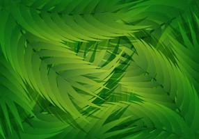 Palm Leaf Liana Background vector