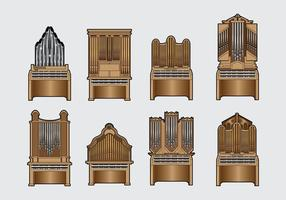 Free Pipe Organ Vector