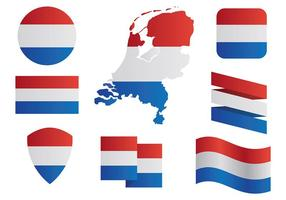 Free Netherlands Map Icons Vector