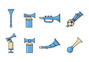 Gratis Cheering Horn Vector