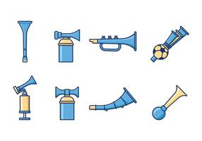 Free Cheering Horn Vektor