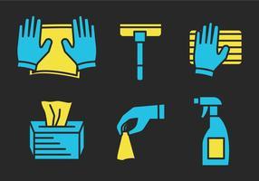 Vector de limpieza