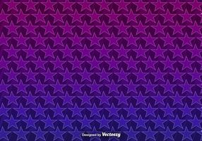 Vector Background With 3D Purple Stars Seamless Pattern