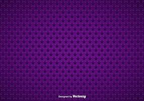 Purple Background With Stars Seamless Pattern vector