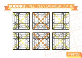 Sudoku Free Vector Pack Vol. 10