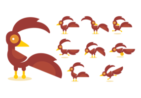 Roadrunner Cartoon Vectors