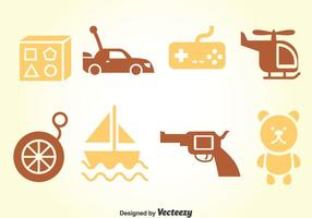 Kids Speelgoed Vector Set