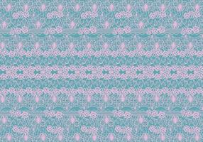 Lace Trim Pattern Vector