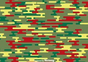 Padrão de camuflagem verde e vermelho