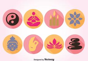 Simbolo del vettore di Buddha