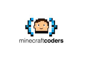 Minecraft Kodierung für Kinder Logo Vektor