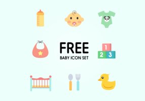 Baby Icon Vector Set