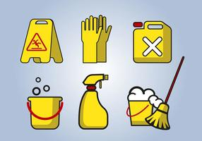 Cleaning Service Tools Vector