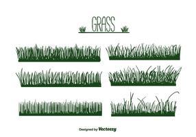 Vecteur d'herbe