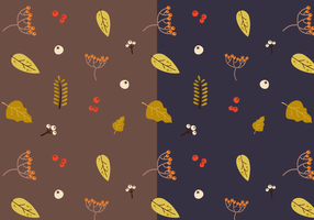 Gratis Herfstpatroon Vector