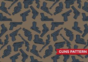 Glock Guns Patroon Vector