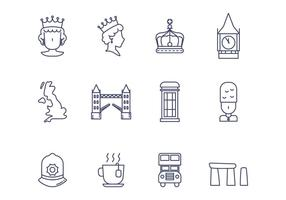 Gratis Britse Vector Icon
