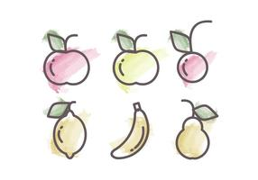 Vector Fruits Illustration