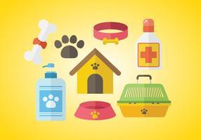 Vecteur d'icône de chien gratuit
