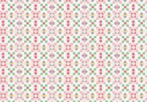 Padrão de quadrados geométricos