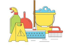 Free Cleaning Icons vector