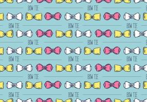 Hand Drawn Bow Tie Background vector