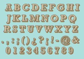 Brown Retro Type