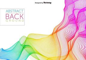 Fondo abstracto del vector del espectro del arco iris