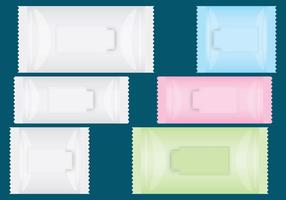 Wipe Packages vector
