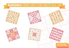 Sudoku Free Vector Pack Vol. 28