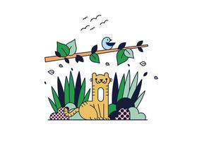 Livre Tiger Vector